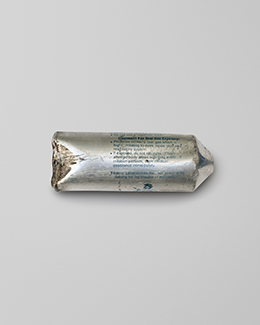 Tear gas made in Wyoming. USACollected on Tahrir square in 2012.Cairo, Egypt